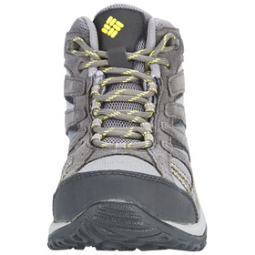 Columbia Dakota Drifter Mid Waterproof Shoes Women Light Grey/Sunnyside